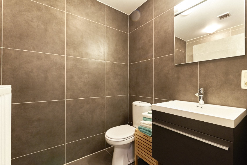 Kramique slaapkamer 7 met eigen badkamer for Slaapkamer met badkamer